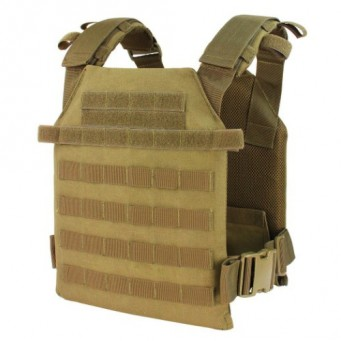 Sentry Plate Carrier Ultra Piatto (Coyote Brown)