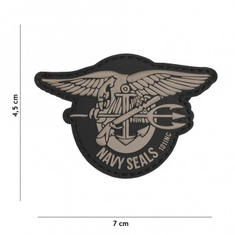 Patch PVC Navy Seals Logo