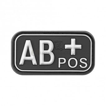 Patch PVC Blood AB+ (Nera)