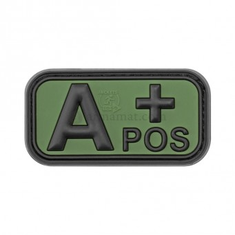 Patch PVC Blood A+ (OD)
