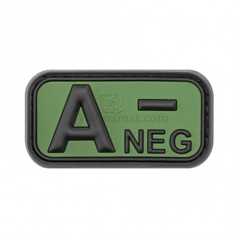 Patch PVC Blood A- (OD)