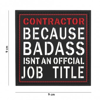 Patch PVC Contractor BADASS