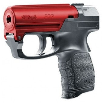 Pistola Peperoncino Ricaricabile Walther PDP Black