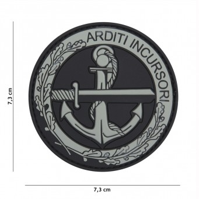 Patch PVC Arditi Incursori Grigia