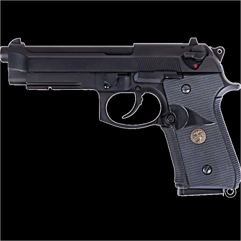 Beretta M9A1 Blow Back Full Metal Gas