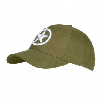 Baseball Cap Allied Star WWII Ricamo 3D