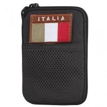Tasca Multiuso Porta Documenti Bandiera ITA (Nero)