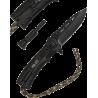Coltello Survival Paracord & Fire Starter