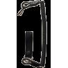 Correggiolo con Passante Cintura (Nero)