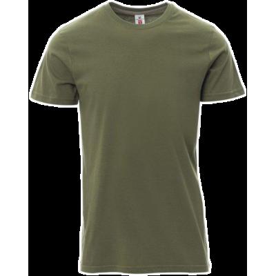 T-Shirt 100% Cotone Esercito Verde