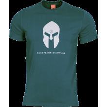 T-Shirt Spartan Helmet (Petrol Blue)