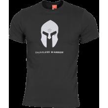 T-Shirt Spartan Helmet (Nero)