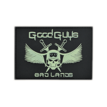 Patch Good Guys in Bad Lands (Fluo)
