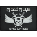 Patch Good Guys in Bad Lands (White)