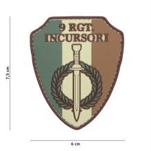 Patch PVC 9 RGT Incursori (Multicam)