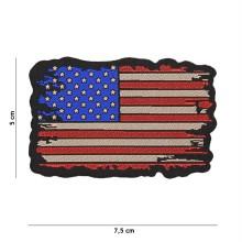 Patch Tessuto Fine USA Vintage
