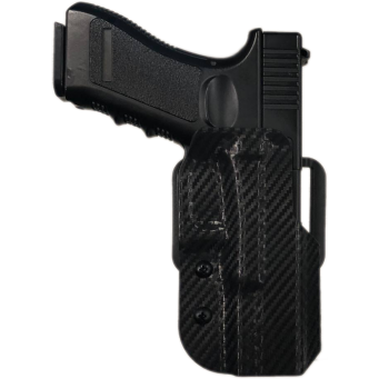 Fondina Match Kydex Glock 17/22 (Fibra di Carbonio/DX)