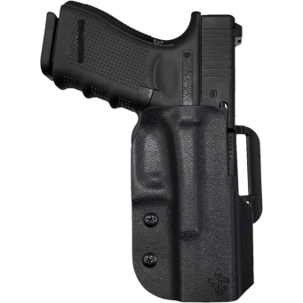 Fondina Match Kydex Glock 19/23 (Nera/DX)