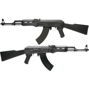 AK47 Full Metal Scarrellante
