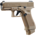 Glock 19X Real Co2 Blow Back (FDE)