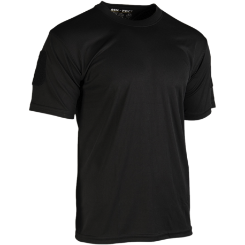 T-Shirt Tattica Quick Dry (Nera)
