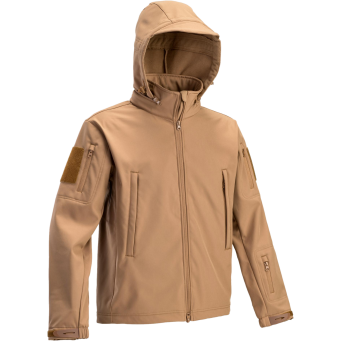 Tactical Softshell Jacket (Coyote Brown)